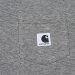 Женская футболка Carhartt WIP W' Carrie Pocket Grey Heather/Black фото- 2