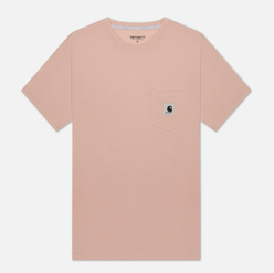Женская футболка Carhartt WIP W' Carrie Pocket Powdery/Ash Heather
