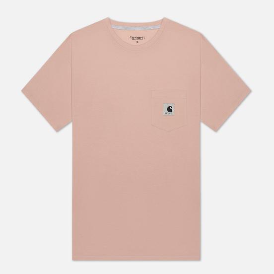 Женская футболка Carhartt WIP W' Carrie Pocket Powdery/Ash Heather