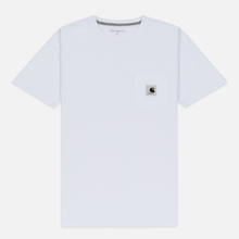Женская футболка Carhartt WIP W' Carrie Pocket White/Grey Heather фото- 0
