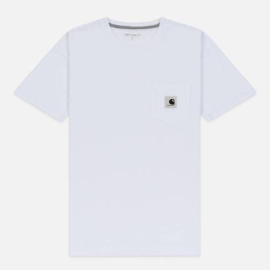 Женская футболка Carhartt WIP W' Carrie Pocket White/Grey Heather