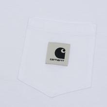 Женская футболка Carhartt WIP W' Carrie Pocket White/Grey Heather фото- 2