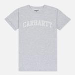 Женская футболка Carhartt WIP W' Carrie Yale Ash Heather/White фото- 0
