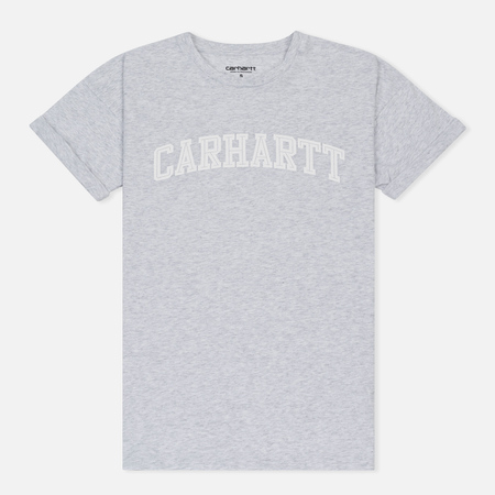 Женская футболка Carhartt WIP W' Carrie Yale Ash Heather/White