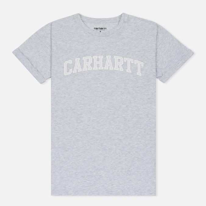 Женская футболка Carhartt WIP W' Carrie Yale Ash Heather/White