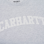 Женская футболка Carhartt WIP W' Carrie Yale Ash Heather/White фото- 2