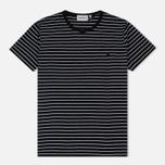 Женская футболка Carhartt WIP W' Cullen Stripe Black/White фото- 0