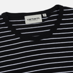 Женская футболка Carhartt WIP W' Cullen Stripe Black/White фото- 1