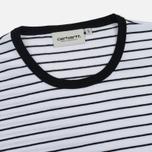Женская футболка Carhartt WIP W' Cullen Stripe White/Black фото- 1