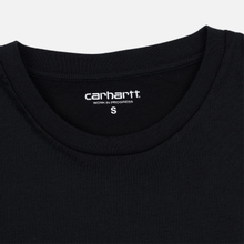 Женская футболка Carhartt WIP W' S/S Duality Black фото- 2
