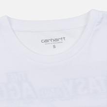 Женская футболка Carhartt WIP W' S/S Duality White фото- 2