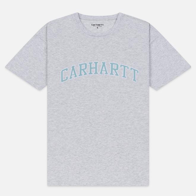 Женская футболка Carhartt WIP W' S/S Princeton Ash Heather