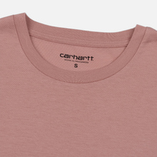Женская футболка Carhartt WIP W' S/S Princeton Blush фото- 1