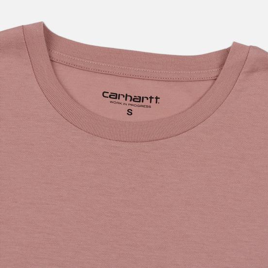 Женская футболка Carhartt WIP W' S/S Princeton Blush