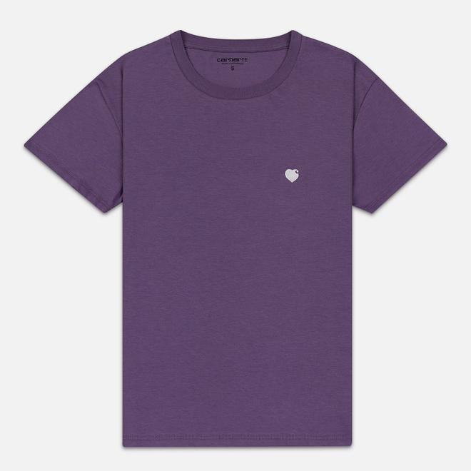 Женская футболка Carhartt WIP W' S/S Tilda Hartt Dusty Mauve/Wax