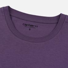 Женская футболка Carhartt WIP W' S/S Tilda Hartt Dusty Mauve/Wax фото- 1