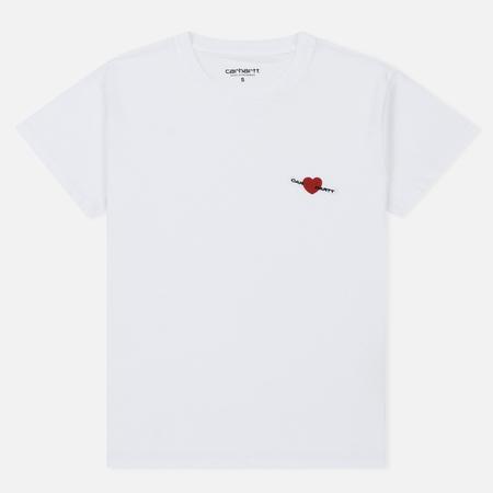 Женская футболка Carhartt WIP W' S/S Tilda Heart White