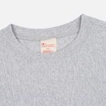 Женская футболка Champion Reverse Weave Basic Crew Neck Grey фото- 1