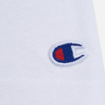 Champion Reverse Weave Basic Crew Neck Women's T-Shirt White photo- 2