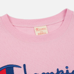 Женская футболка Champion Reverse Weave Basic Light Pink фото- 1