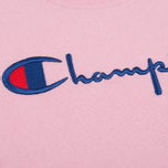 Женская футболка Champion Reverse Weave Basic Light Pink фото- 2