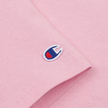 Женская футболка Champion Reverse Weave Basic Light Pink фото- 3
