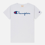 Женская футболка Champion Reverse Weave Basic White фото- 0