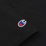 Женская футболка Champion Reverse Weave Big Logo Black фото- 3