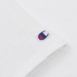 Женская футболка Champion Reverse Weave Big Logo White фото- 3