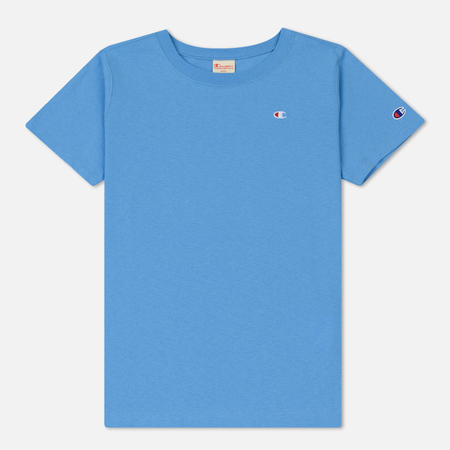 Женская футболка Champion Reverse Weave Crew Neck Azure Blue