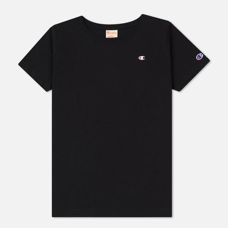 Женская футболка Champion Reverse Weave Crew Neck Black