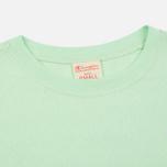 Женская футболка Champion Reverse Weave Crewneck Logo Embroidery Green фото- 1