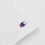 Женская футболка Champion Reverse Weave Crewneck Logo Embroidery White фото- 3