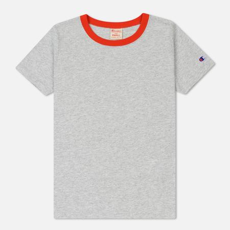 Женская футболка Champion Reverse Weave Logo Classic Heather Grey