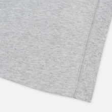 Женская футболка Champion Reverse Weave Script Logo Crew Neck Light Grey фото- 4
