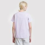 Женская футболка Champion Reverse Weave Script Logo Crew Neck Pastel Lilac фото- 3