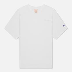 Женская футболка Champion Reverse Weave Script Logo Embroidery Maxi White