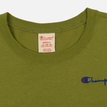 Женская футболка Champion Reverse Weave Small Script Crew Neck Guacamole фото- 1