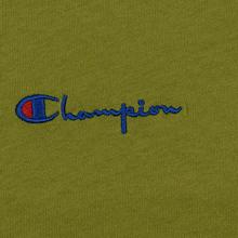 Женская футболка Champion Reverse Weave Small Script Crew Neck Guacamole фото- 2