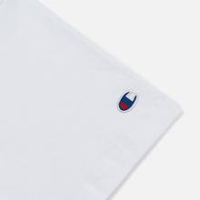 Женская футболка Champion Reverse Weave Small Script Crew Neck White фото- 1