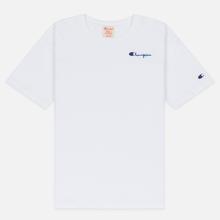 Женская футболка Champion Reverse Weave Small Script Crew Neck White фото- 0