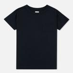 Edwin W' April Pocket Women's T-shirt Black photo- 0