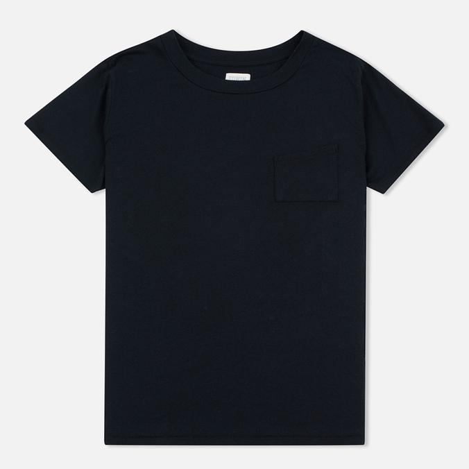 Женская футболка Edwin W' April Pocket Black
