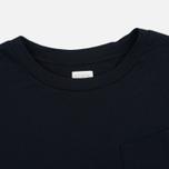 Edwin W' April Pocket Women's T-shirt Black photo- 1