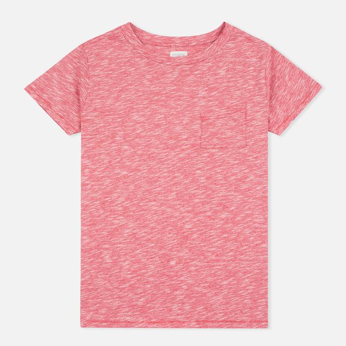 Женская футболка Edwin W' April Pocket Red