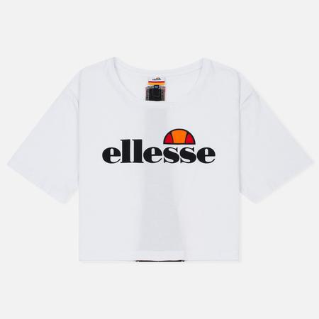 Женская футболка Ellesse Abriana Crop Optic White