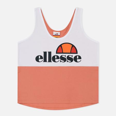Женская футболка Ellesse Luchetto Vest Optic White/Crab Apple