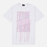 Женская футболка Evisu Fusion White/Pink фото- 0
