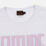Женская футболка Evisu Fusion White/Pink фото- 1