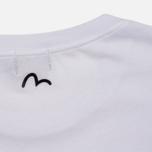Женская футболка Evisu Fusion White/Pink фото- 3